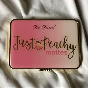 Too Faced Just Peachy Mattes Eyeshadow Palette